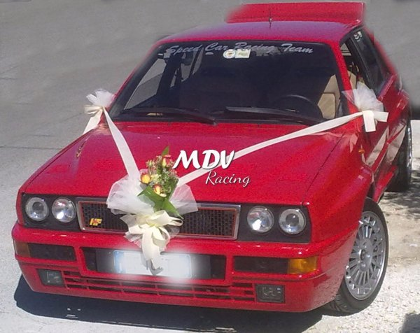Lancia Delta Evoluzione Rossa